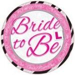Bride To Be Jumbo Badge
